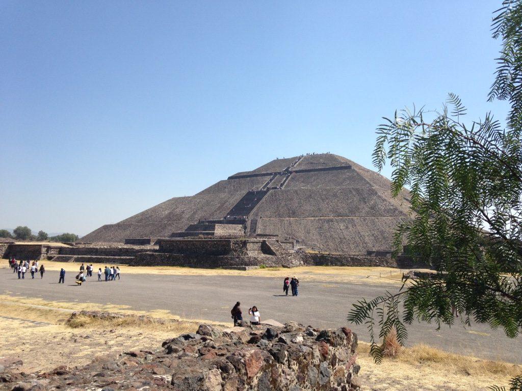 Пирамида Солнца город Теотиуакан