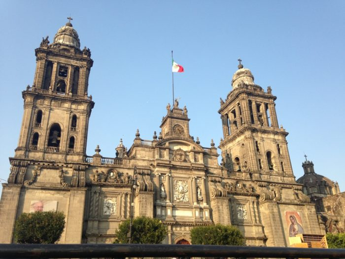 День 10. Кафедральный собор Мехико