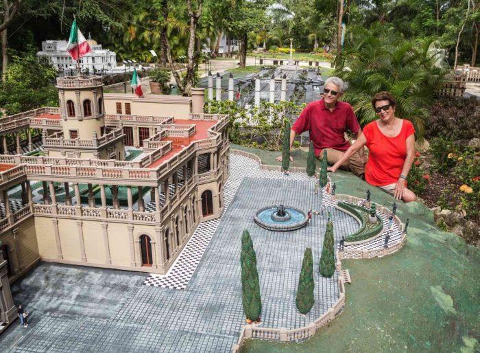 Tематический парк «Discover Mexico» на острове Косумель.