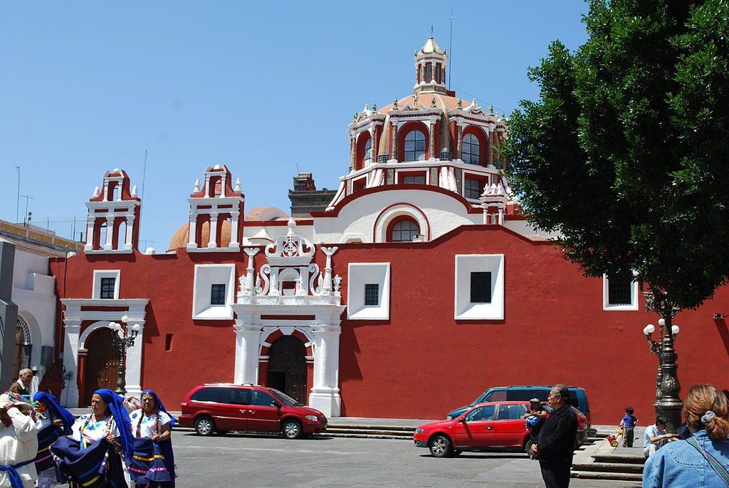 Часовня Розарио, Пуэбла