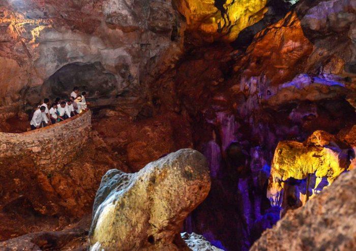 Пещеры Штакумбильшунаан, Юкатан
