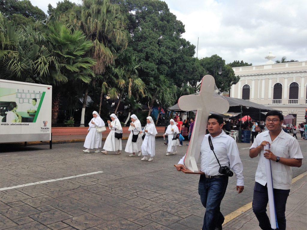 Воскресные гуляния в Мериде
