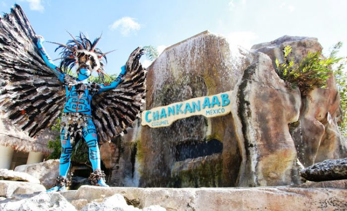Природный парк Чанканааб на острове Косумель, Мексика.