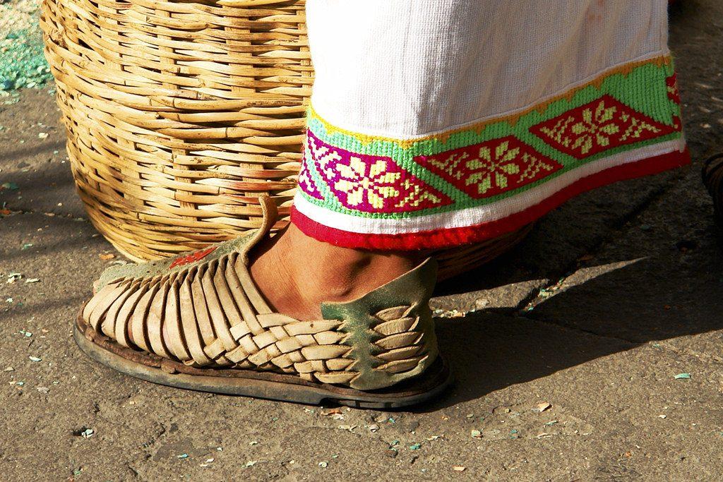 мексиканские сандалии