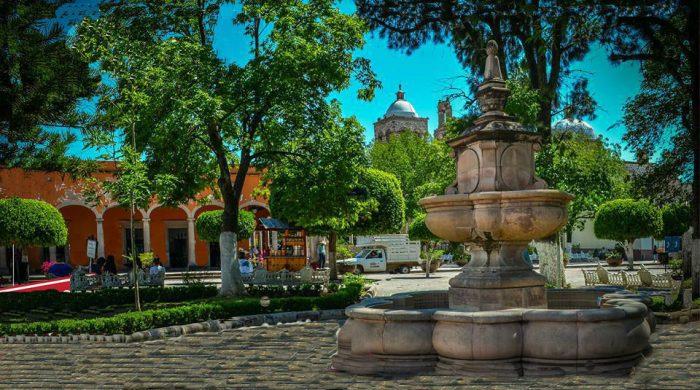 городская площадь Хардин Морелос, Ночистлан