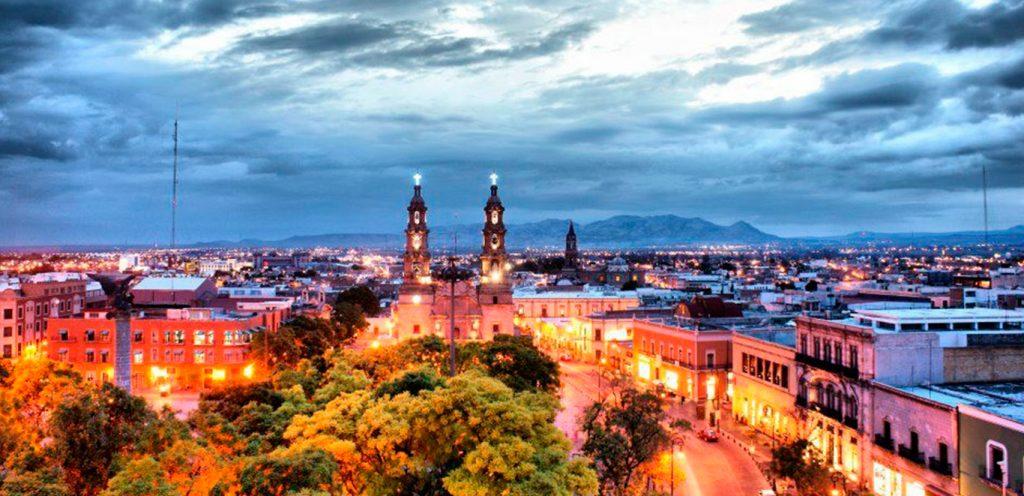 Агуаскальентес на закате