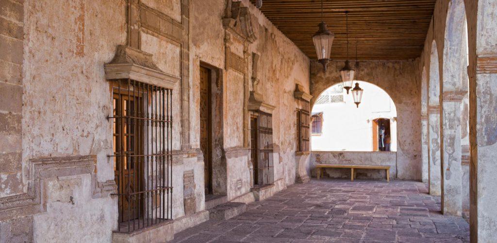 руины гасиенды Сан-Николас, Тлайкапан, Мексика