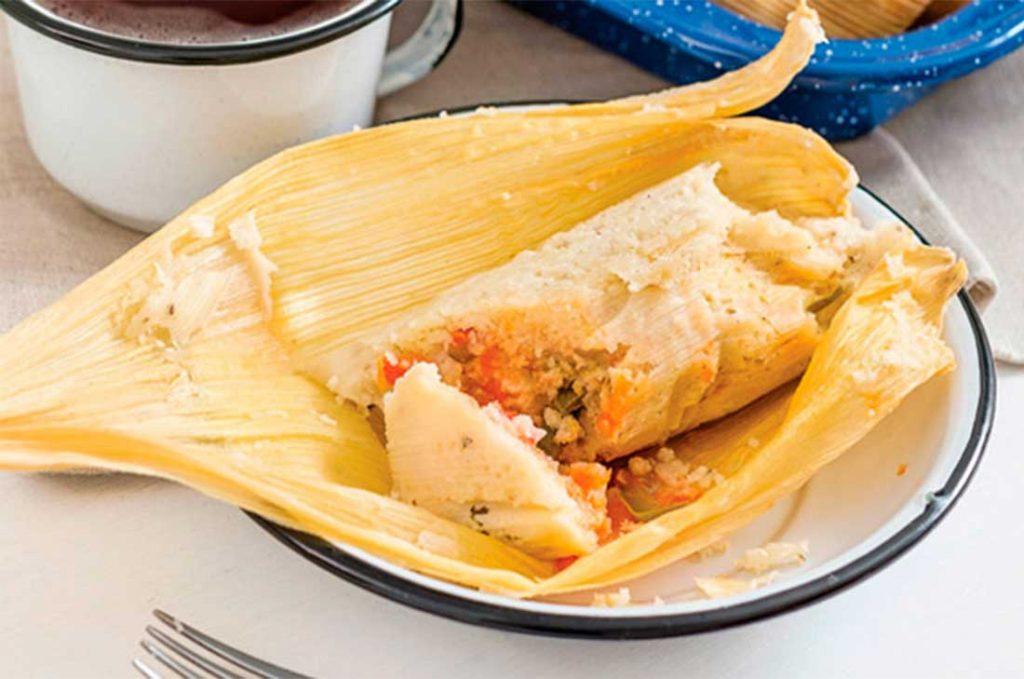 Тамаль - традиционное мексиканское блюдо.
