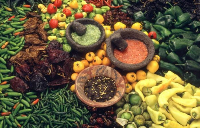мексика перец острый соусы сальса