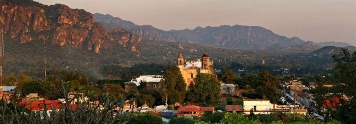 Путешествие по Мексике: Тепостлан