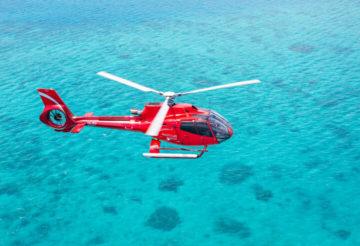 Вертолётные прогулки над Канкуном